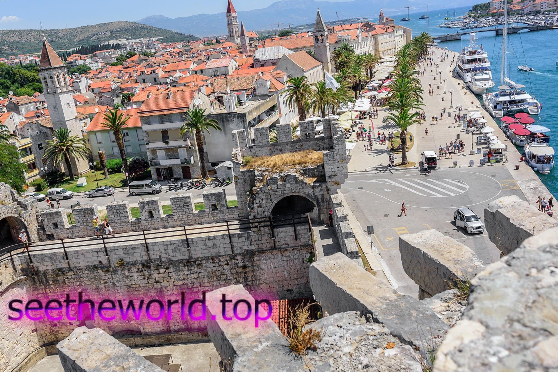 Трогір - «кам'яна красуня» Хорватії