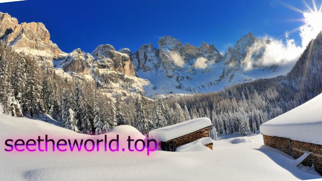 Гірськолижний курорт Валь ді Фьємме (Val di Fiemme), Італія
