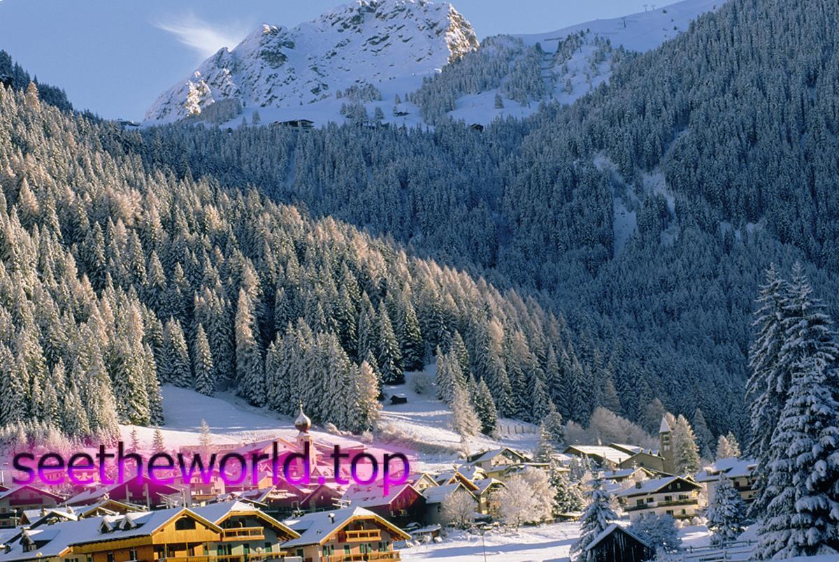 Гірськолижний курорт Валь ді Фасса(Val_di_Fassa), Італія