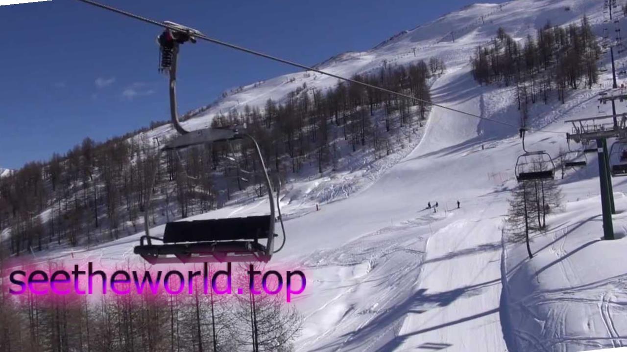 Гірськолижний курорт Сестріере (Sestriere), Італия