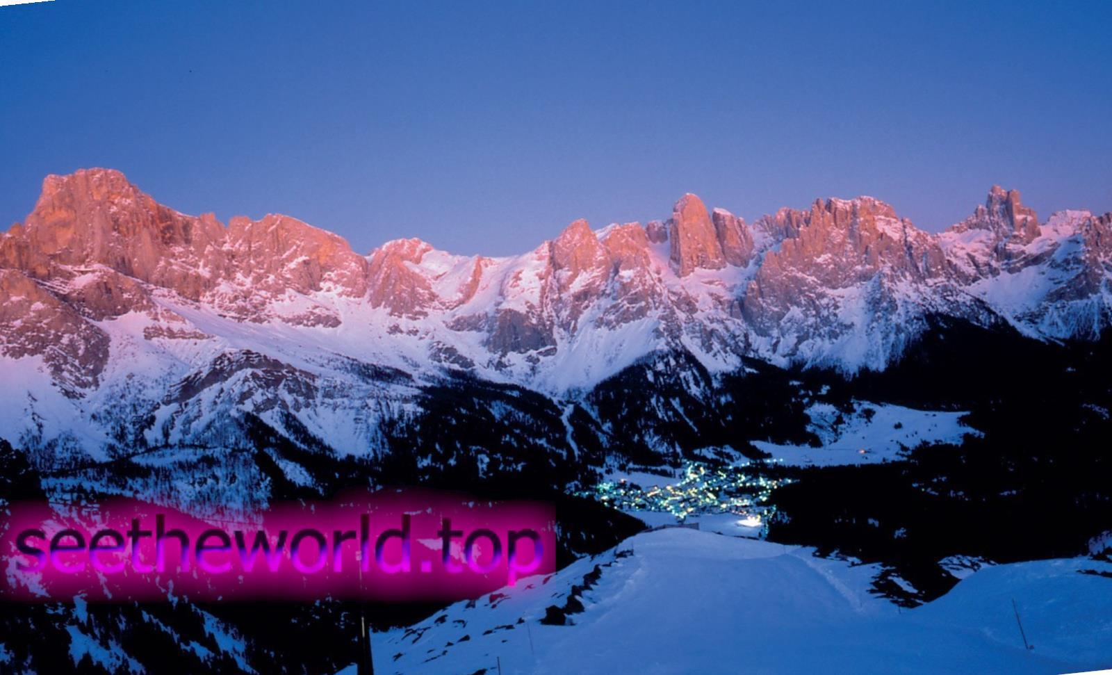 Гірськолижний курорт Сан-Мартіно-ді-Кастроцца (San Martino di Castrozza), Італія