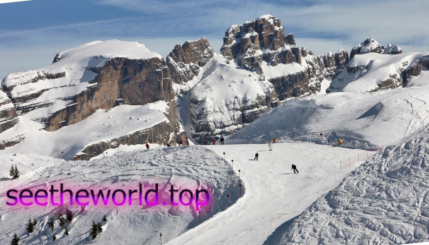 Гірськолижний курорт Пінцоло (Pinzolo), Італія