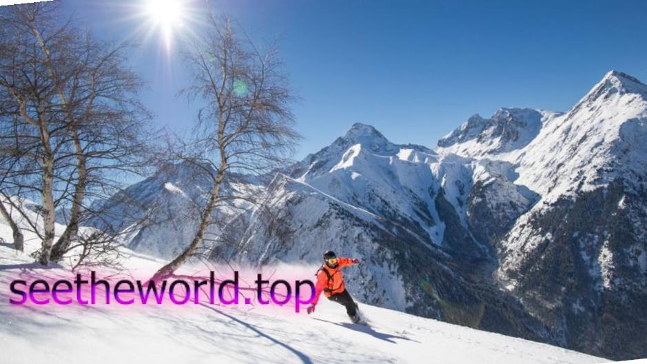 Гірськолижний курорт Ле дез Альп (LES DEUX ALPES), Франція
