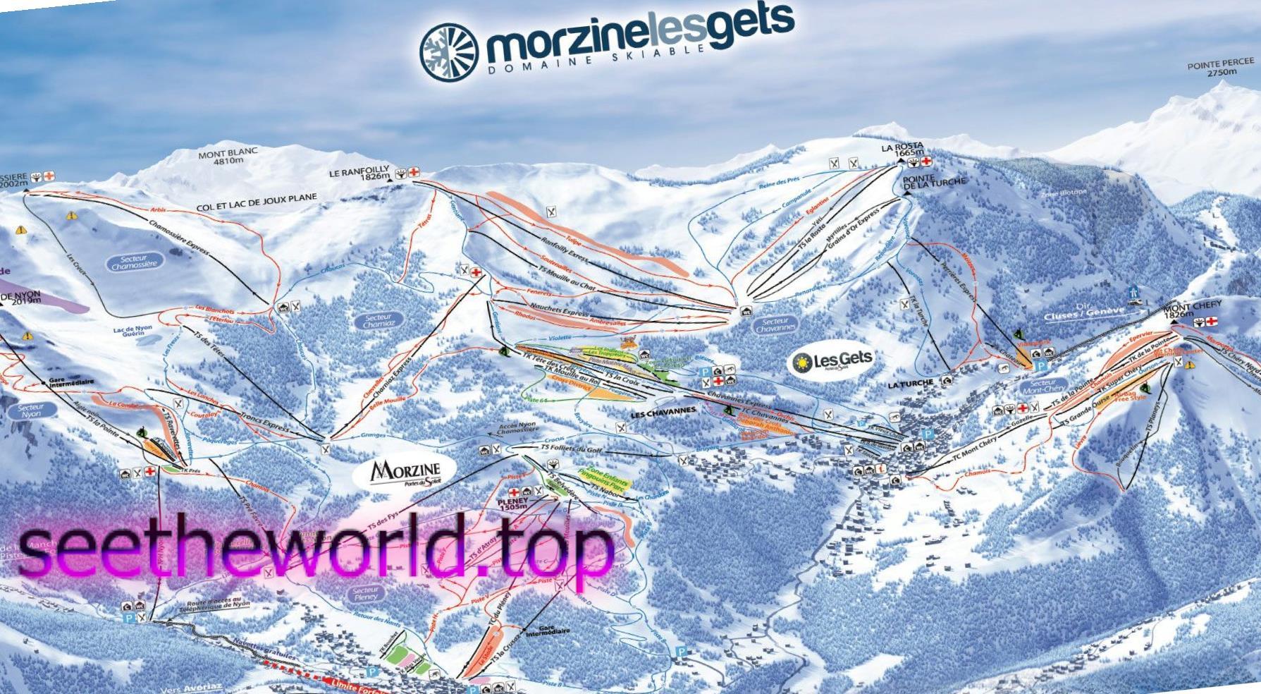 Гірськолижний курорт Морзін(Morzine), Франція