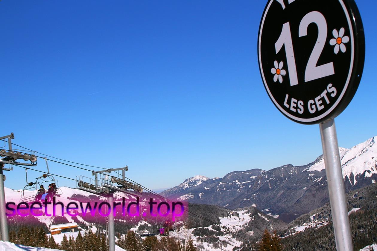 Гірськолижний курорт Ле Же (Les Gets), Франція