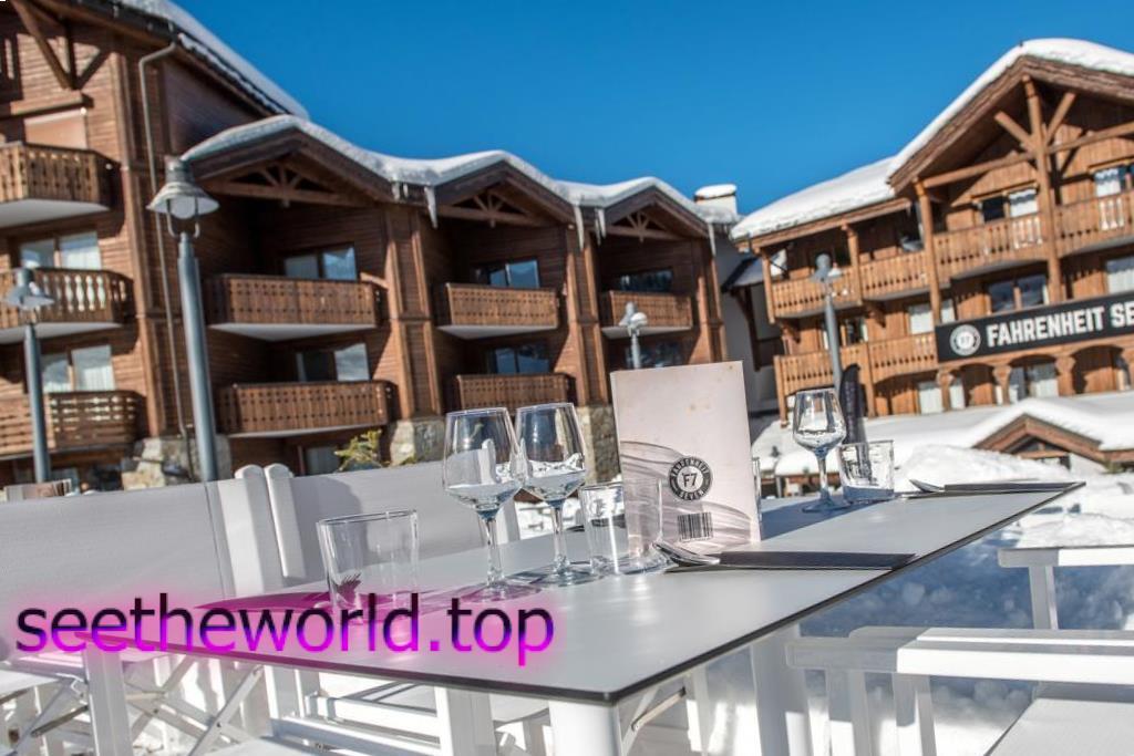 Гірськолижний курорт Куршевель (Courchevel), Франція