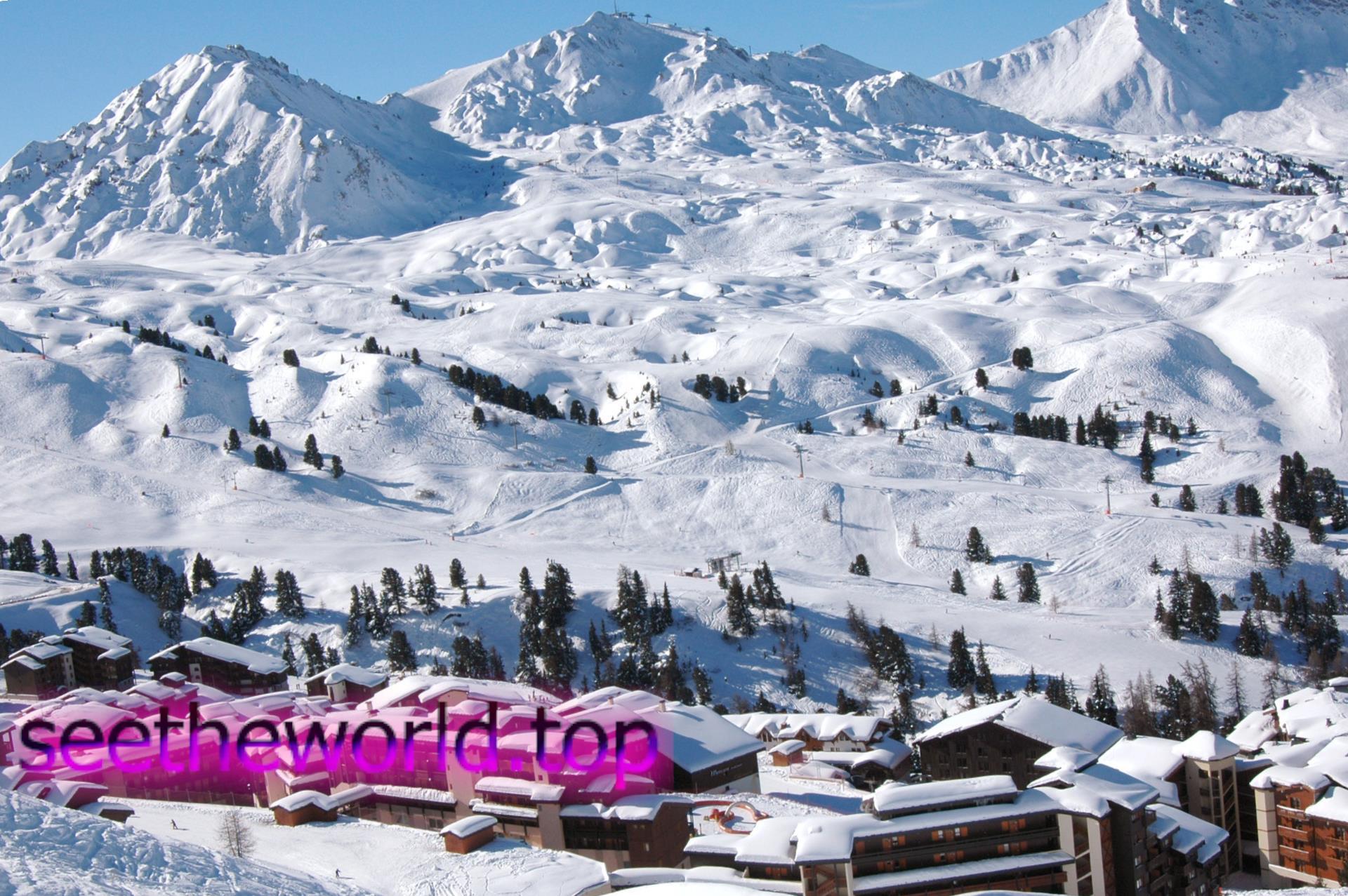 Гірськолижний курорт Ля Плань (La Plagne), Франція