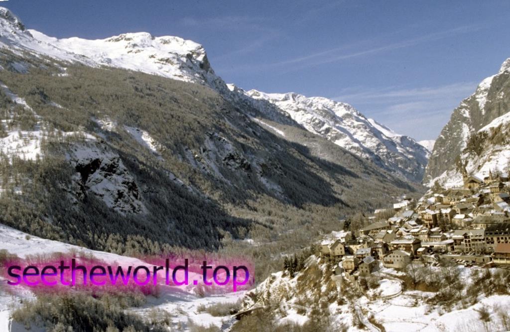 Гірськолижний курорт Ля Грав (La Grave), Франція
