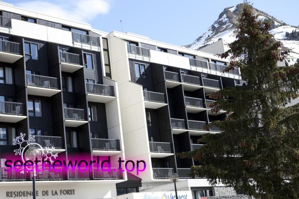 Гірськолижний курорт Флен (Flaine), Франція