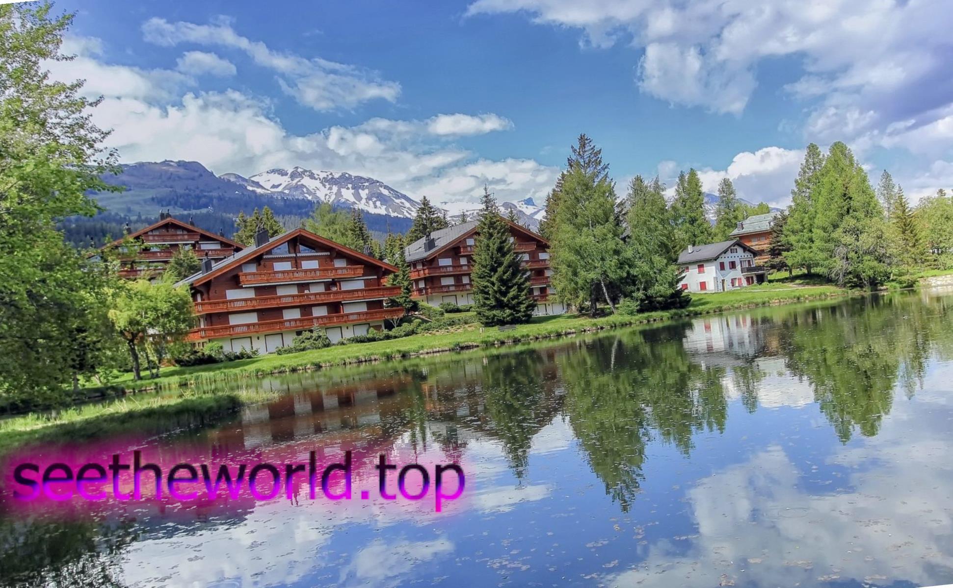 Гірськолижний курорт Kран-Mонтана (Сrans-Mоntana), Швейцарія