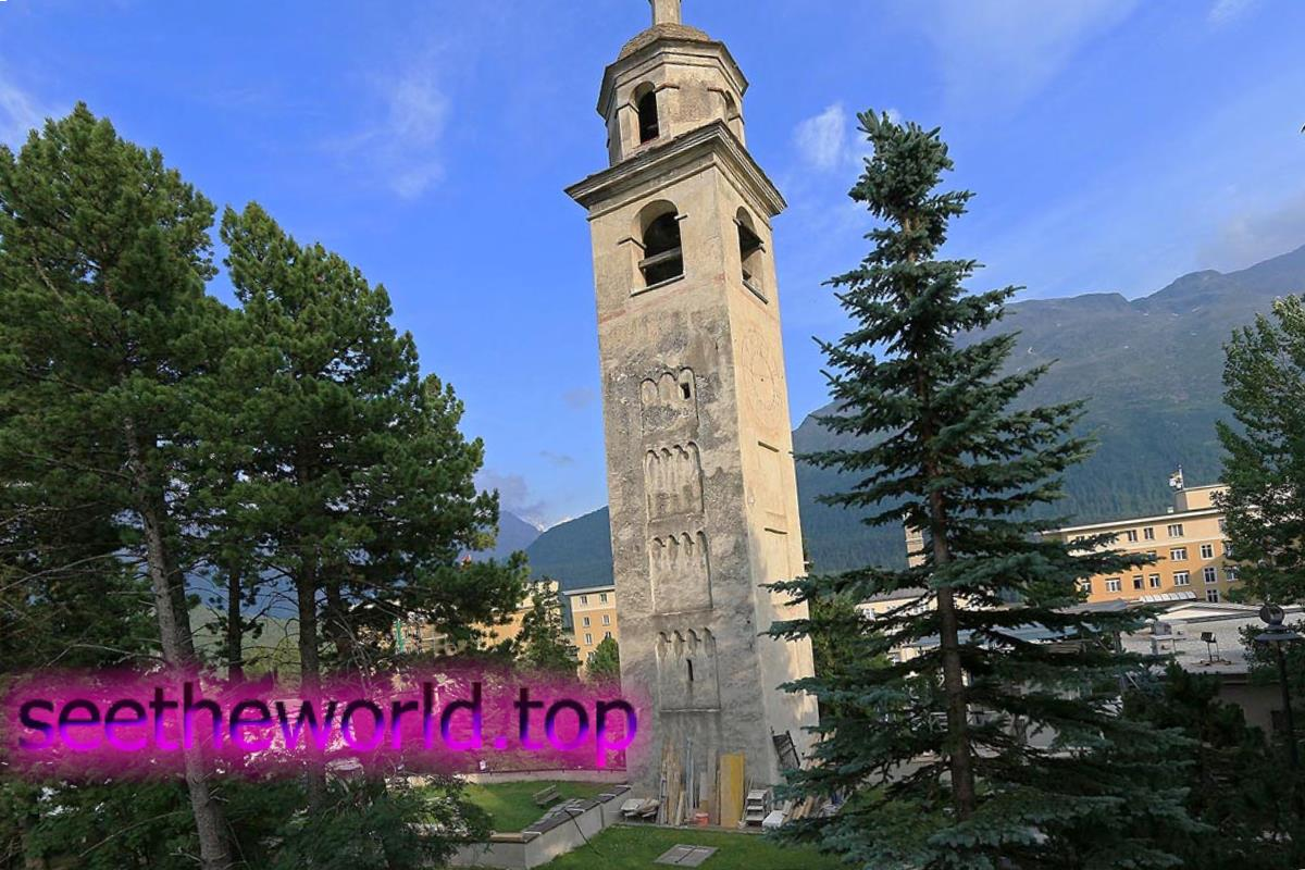 Гірськолижний курорт Санкт-Моріц (St. Moritz), Швейцарія