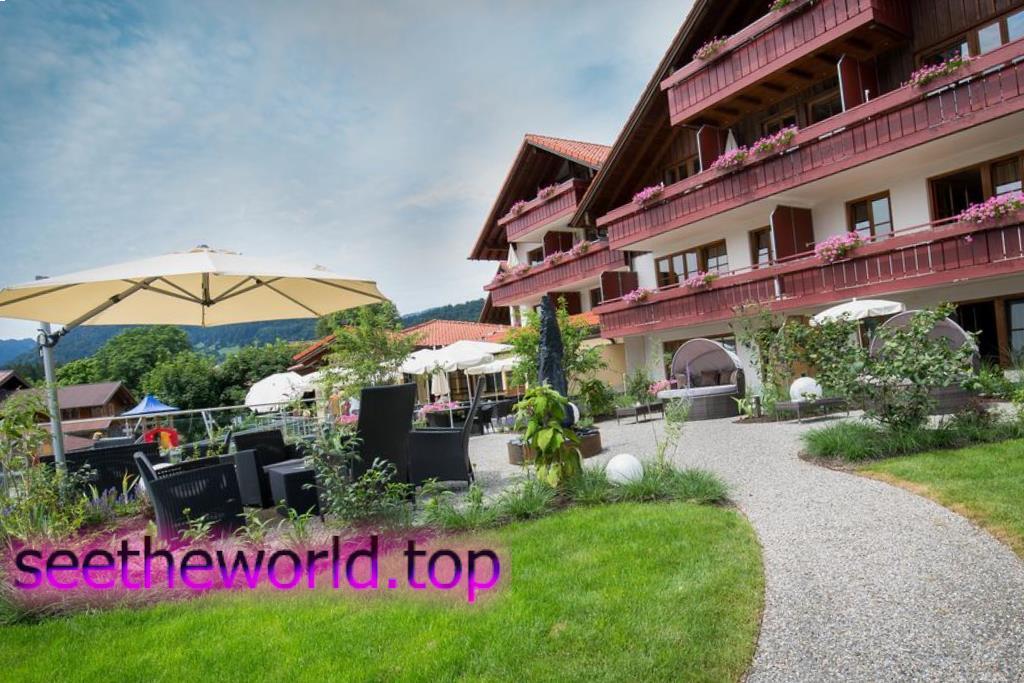 Гірськолижний курорт Оберстдорф (Oberstdorf), Німеччина