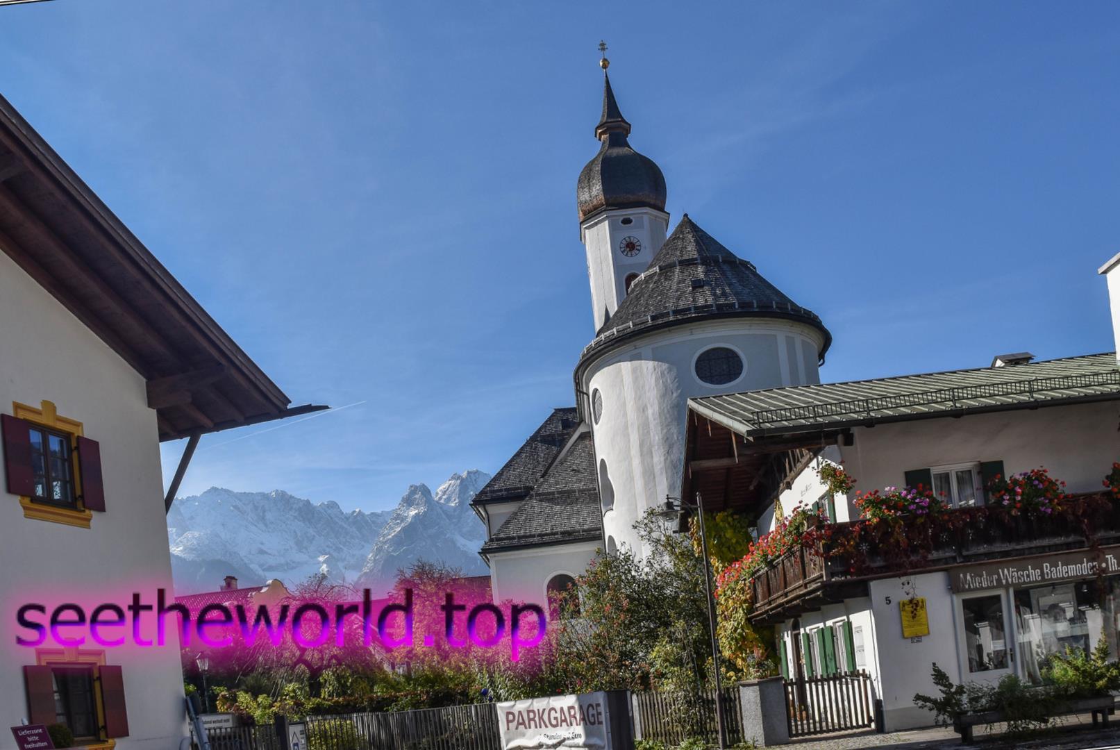Гірськолижний курорт Гарміш-Партенкірхен (Garmisch-Partenkirchen), Німеччина