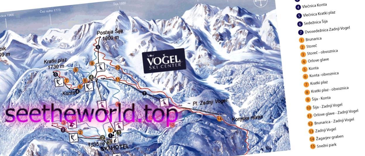Гірськолижний курорт Вогель (Vogel), Словенія